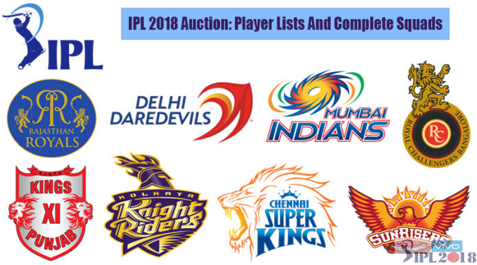 IPL 11 All Teams Squad With Players Name List
