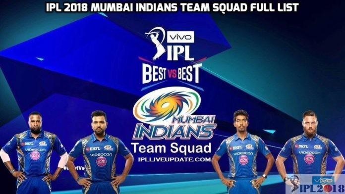 IPL 2018 Mumbai Indians Team Squad And Players