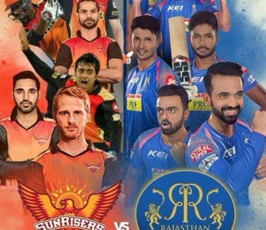 IPL 2018 Sunrisers Hyderabad vs Rajasthan Royals Live Streaming