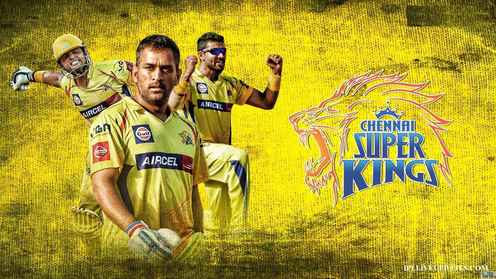 IPL 2018 Chennai Super Kings Team Squad And Players List  Chennai Super Kings Players