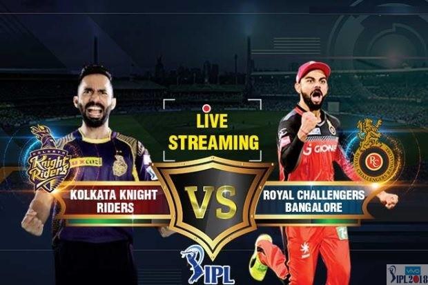 IPL 2018 RCB Vs KKR T20